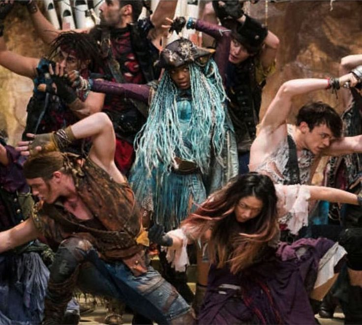 """#uma and her Pirate Crew are not to be missed! #disneydescendants2 #july21...#weridewiththetide..."" - Kenny Ortega | 052617 | IG @kennyortegablog"