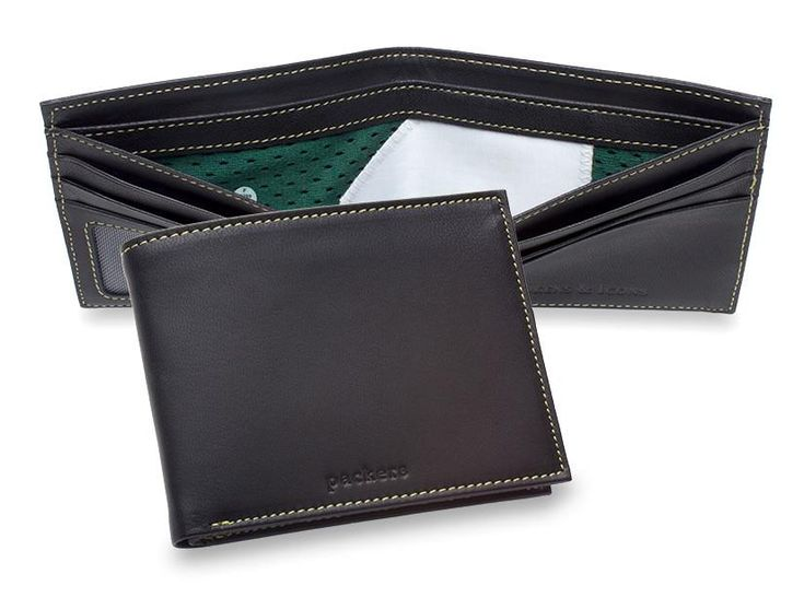 Green Bay Packers Game Used Uniform Wallet | Tokens & Icons