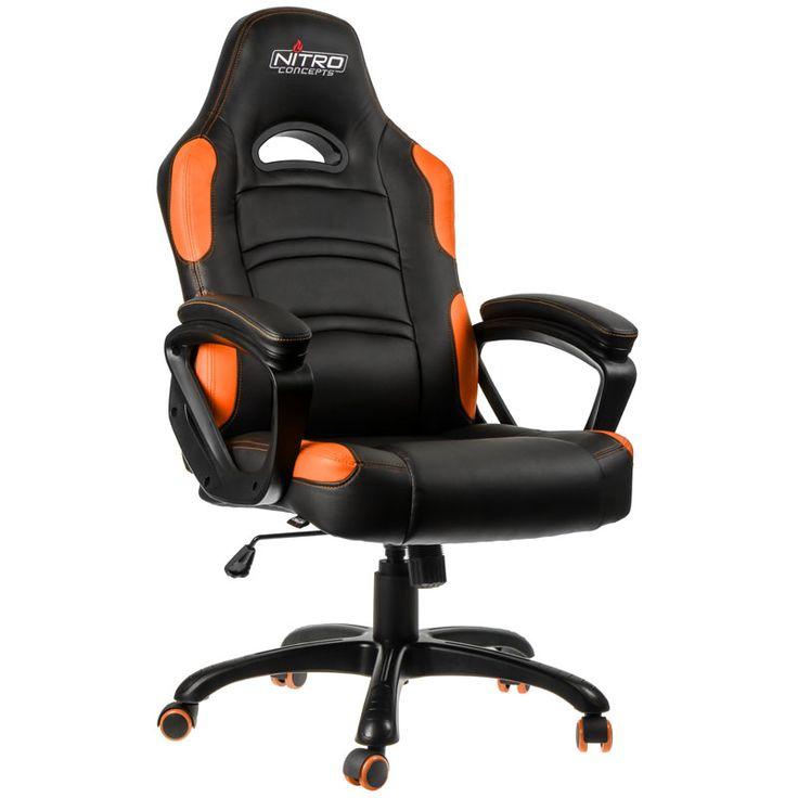 One Computer Nitro Concepts C80 Comfort Gaming Stuhl schwarz orange: Category: AKRACING Item number: 20586603977 Vendor:…%#Quickberater%