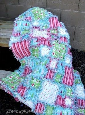 rag quilts - i really want to try to make one of these