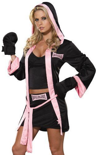 """SEXY BOXING """"Boxer Girl """" Womens Halloween Dreamgirl Costume NEW  #Dreamgirl #CompleteCostume"""