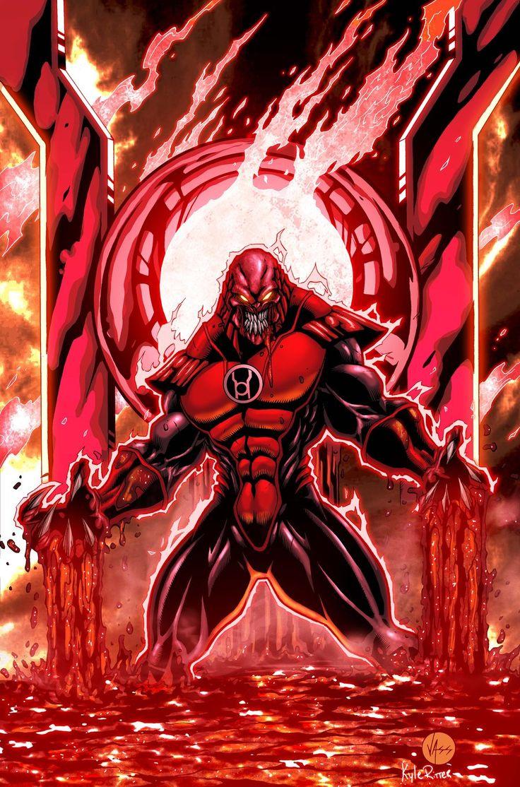 Atrocitus (red Lantern Corps) By Kyle Ritter On Deviantart