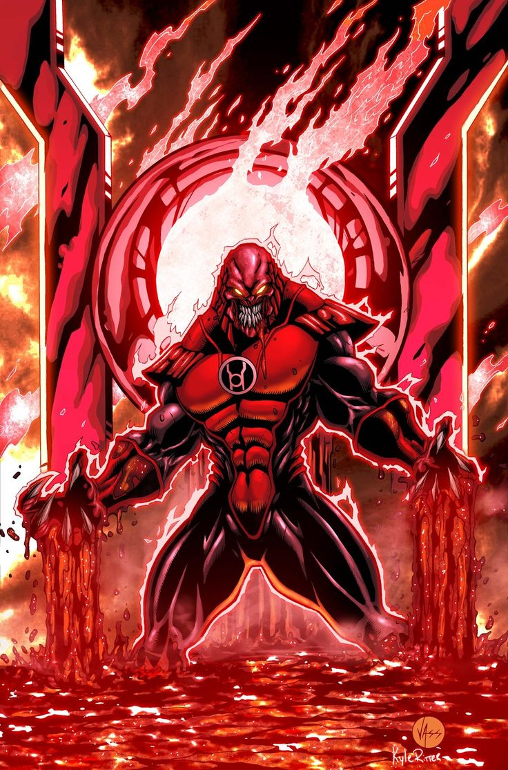 Atrocitus (Red Lantern Corps) by xXNightblade08Xx on deviantART