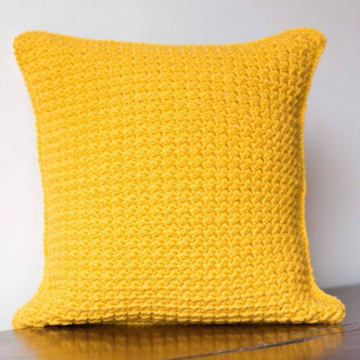 Mustard Yellow Cushion Cover This Will Add Bright Pop Colour
