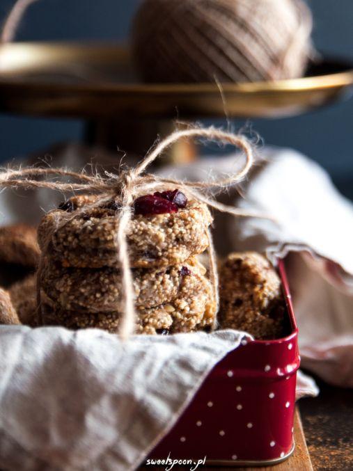 Bezglutenowe i wegańskie ciasteczka z amarantusem