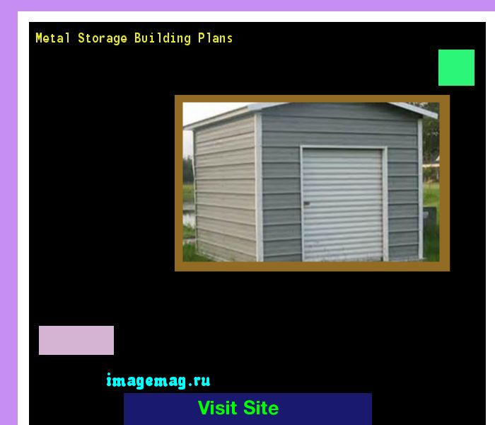 Metal Storage Building Plans 093900 - The Best Image Search