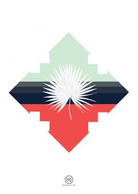 Billede af Bismarckia plakat