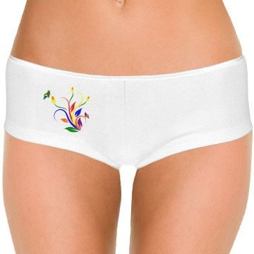 Flowers & Butterflies Hotshort Underwear