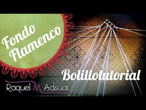 Arañas Caladas de Encaje de Bolillos de Nora Bermúdez. Modelos 1 y 2. Bolillotutorial Adsuar - YouTube