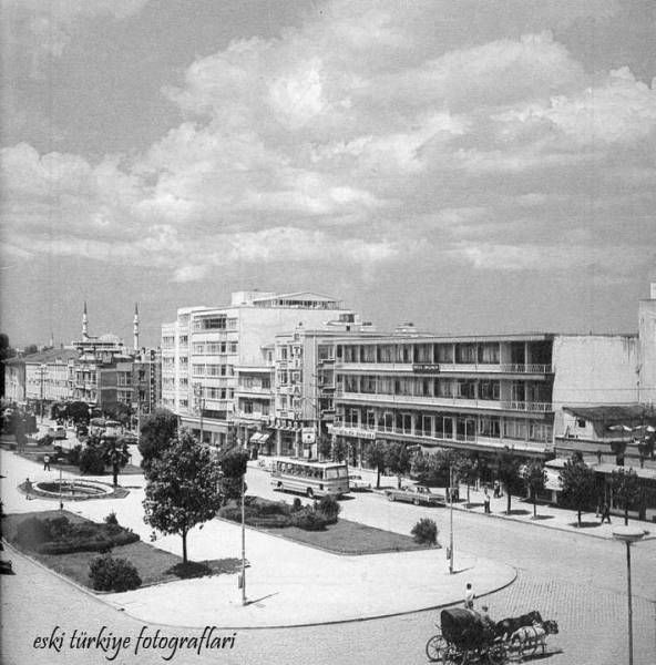 Atatürk Bulvarı; Etibank, Dilmen Oteli vs