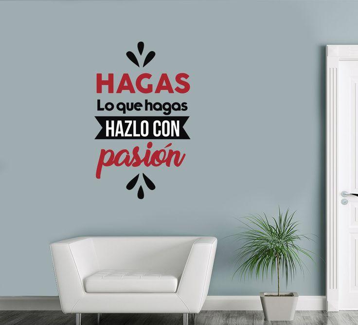 Hazlo con Pasión - Vinilos Decorativos Fotomurales Adhesivos - Medellín