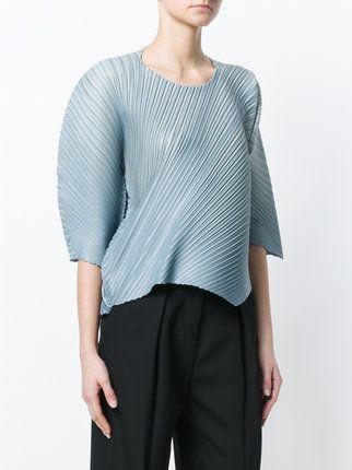 1f876f38d493c2 Pleats Please By Issey Miyake blouse plissée