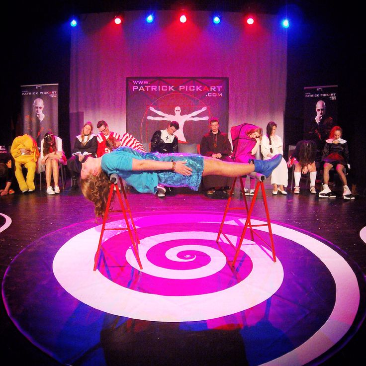 22 best images about Patrick PickArt's Hypnotic World on ...  Stage Hypnosis