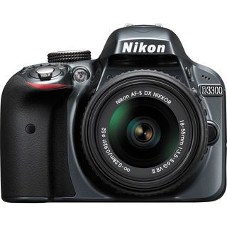 Nikon D3300 DSLR (with AF-S 18-55mm VRII Kit Lens)