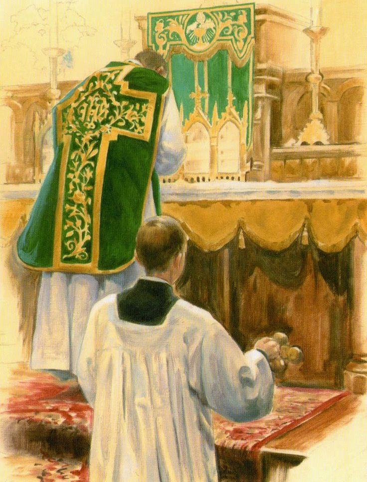 Sanctus Santa Missa de Sempre - Imagens - Associação Santo Atanásio