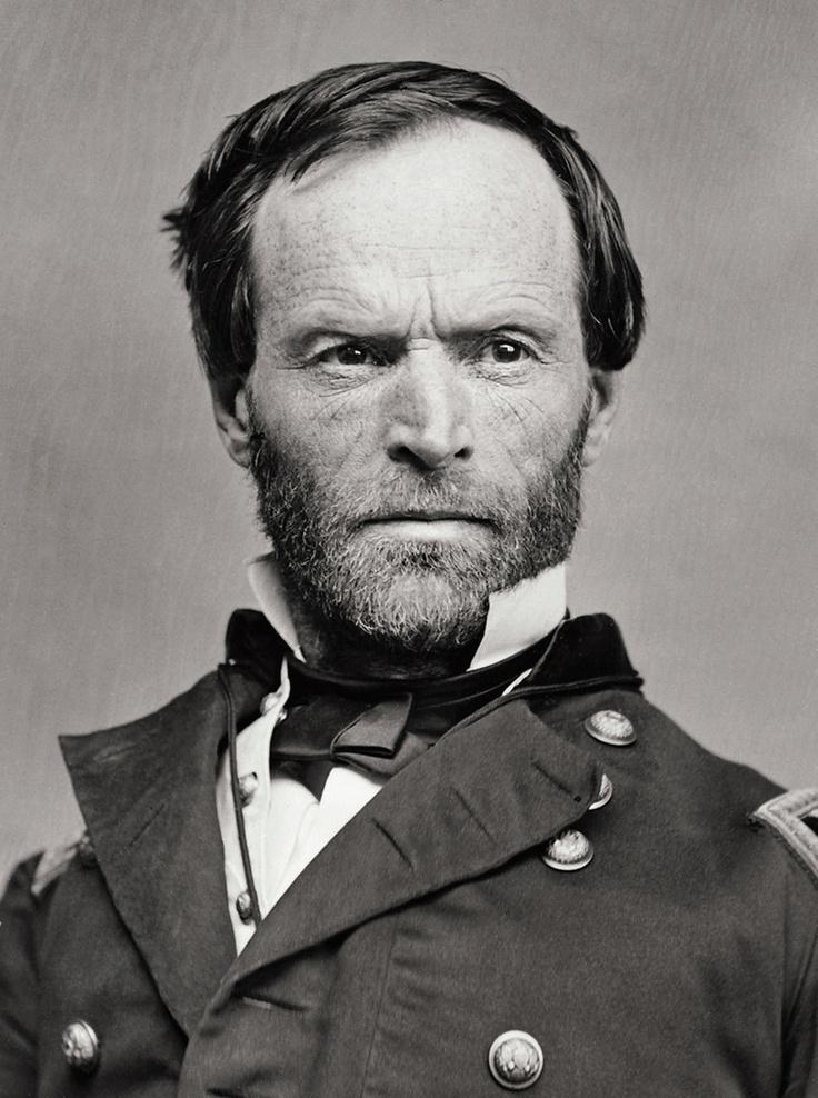 General William Tecumseh Sherman by Mathew Brady