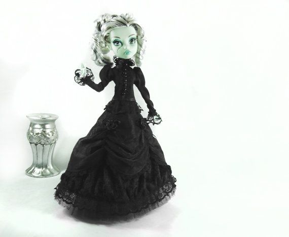 Viktorianisches Kleid ,Kurzjacke handmade passend für MH Puppe