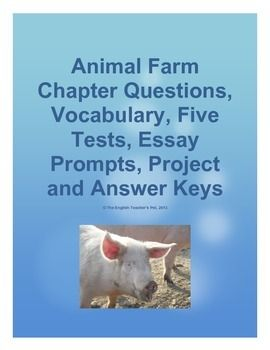the allegory in animal farm a novel by george orwell George orwell's animal farm is an allegory for communism & the russian revolution activities include animal farm characters, summary, allegory, & more.