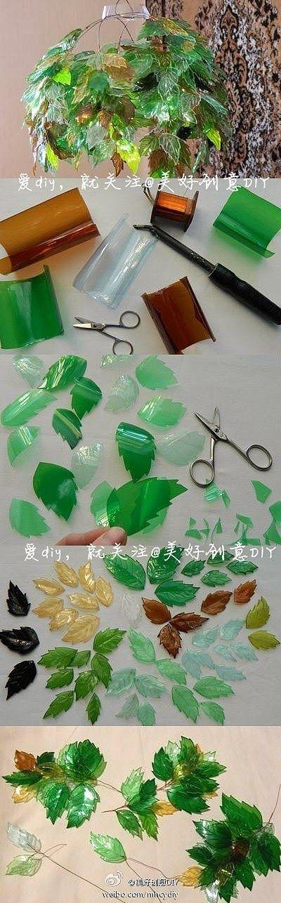 Esse trabalho é bem detalhista,mas o resultado é lindo!! eu amo reciclagem com garrafa PET.   DICA: use garrafas de cores diferentes, ex:...