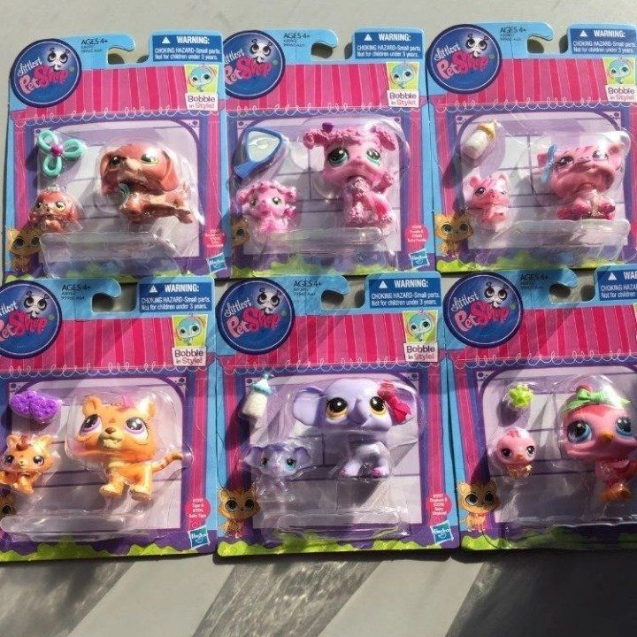 Rand New Lps Littlest Pet Shop Mommy And Babies Bobble In Style Toys R Us Exclusive Favorite Pets Mommy Lps Littlest Pet Shop Lps Pets Littlest Pet Shop