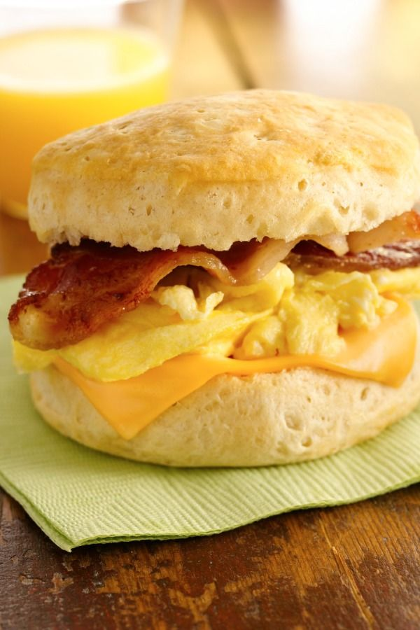 , Egg and Cheese Biscuit Sandwiches | Recipe | Breakfast Sandwiches ...