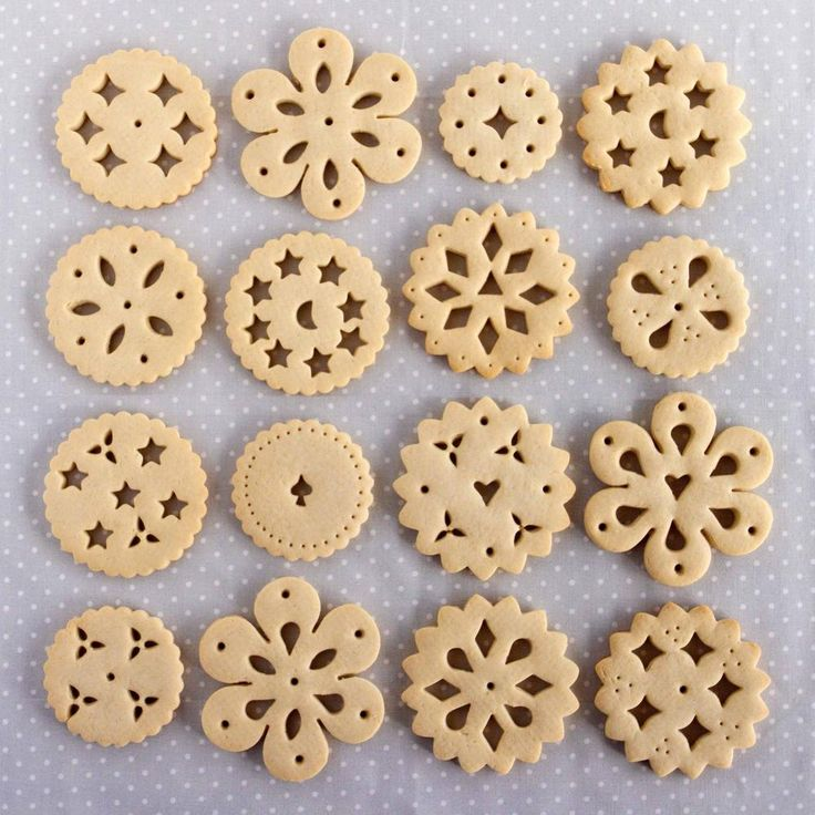 Doily Biscuits | Cookie Connection
