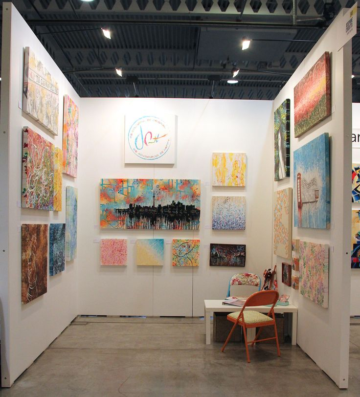 My Booth - 941 at 2015 Artist Project in Toronto