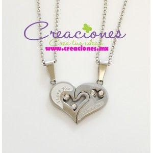 Joyeria fina acero inoxidable - Creaciones www.creaciones.mx, info@creaciones.mx, (662)2105599