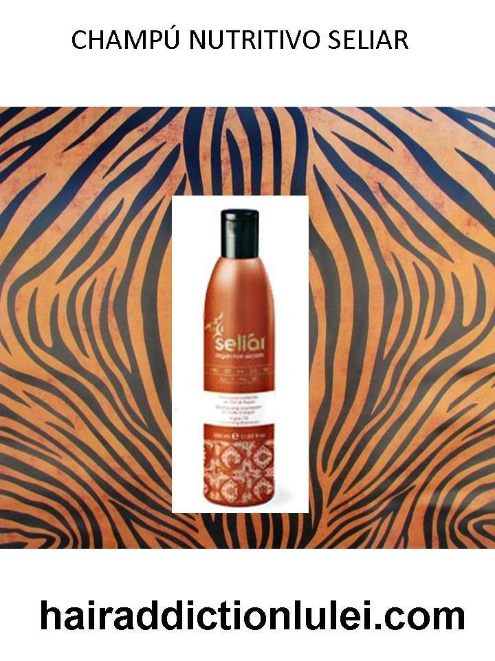 Champú Nutritivo con Aceite de Argán. http://hairaddictionluilei.com/store/LEI/es/lei/85-argan-champu-nutritivo-seliar.html