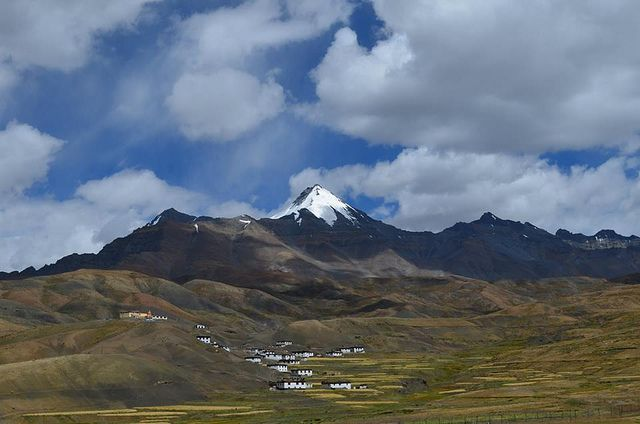 Langza village in Spiti by IndiaOffRoads, via Flickr