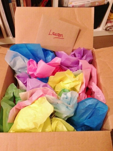 Fill a box with small gifts individually wrapped for a birthday recipient.  The age of the birthday person equals the number of small gifts.  Example:  30 of Your Favorite Things, or 30 Things I Like (Love) About You.