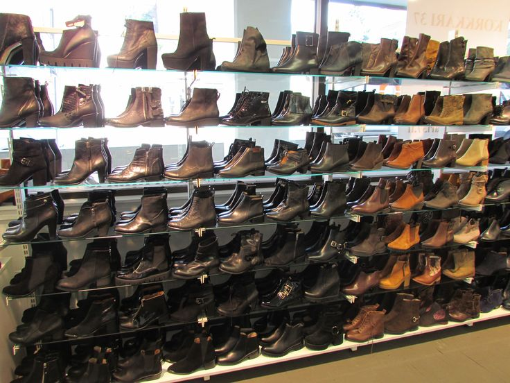 Maybe too many shoes to choose from ;)