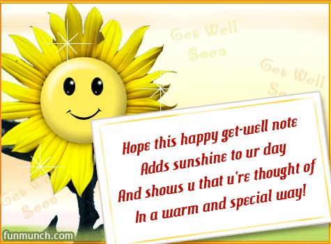 Funny Get Well Message | Getwell Note - Free Get Well Soon Ecards and Get Well Soon Greetings ...
