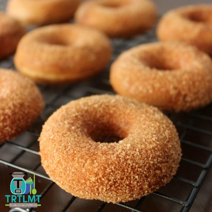 Banana Cinnamon Donuts – The Road to Loving My Thermo Mixer