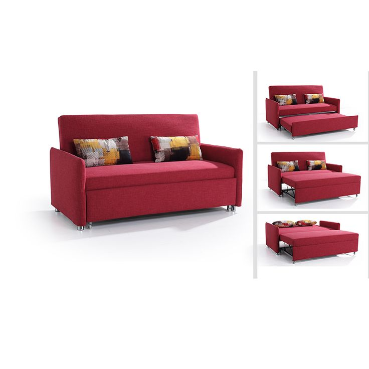 Check out this product on Alibaba.com App:European style red leather sofa bed for single dog https://m.alibaba.com/aAj6Vn