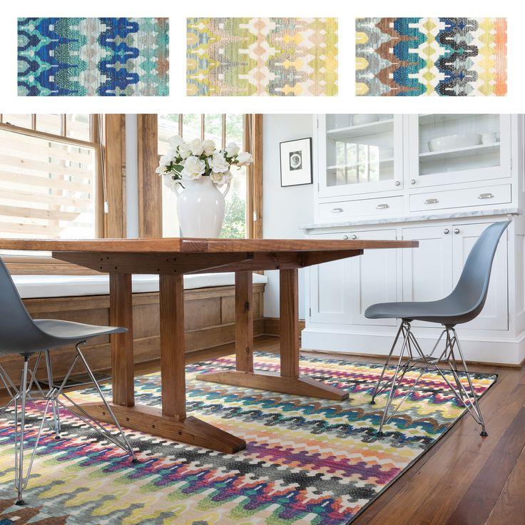 Skye Monet Multi Stripe Rug (5u00272 X 7u00277)   Overstock
