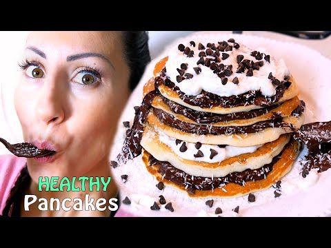 PANCAKES PERFETTI Ricetta Sana, Veloce e Leggera!!! | Carlitadolce Cucina - Healthy Pancakes - YouTube