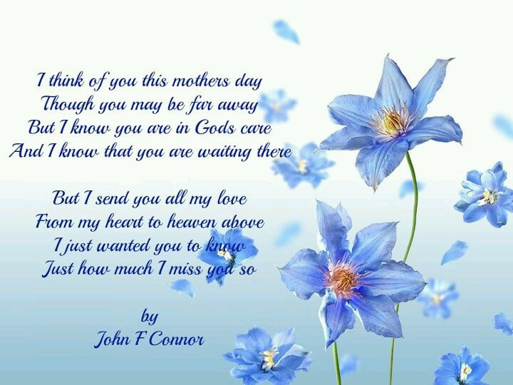 Mothers Day.. By John F. Connor