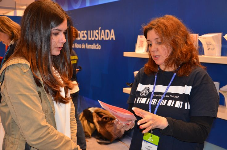 Universidade Lusíada de Lisboa presente na FIL 2014.