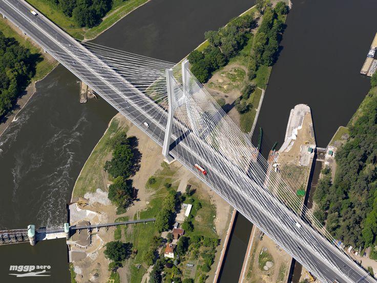 """The Rędzin Bridge (Most Rędziński), Wrocław, Poland, 51°09'26.4""""N 16°57'37.4""""E"""