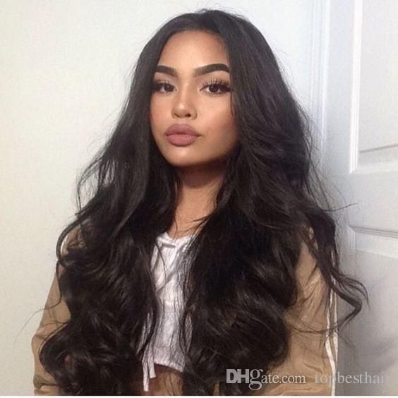 Hot Humain Hair Wigs Virgin 8a Peruvian Human Hair Lace Front Wigs Long Body Wavy Glueless Full Lace Wigs With Baby Hair Shop Hair Wigs Laces Wigs From Topbesthair, $46.84| Dhgate.Com