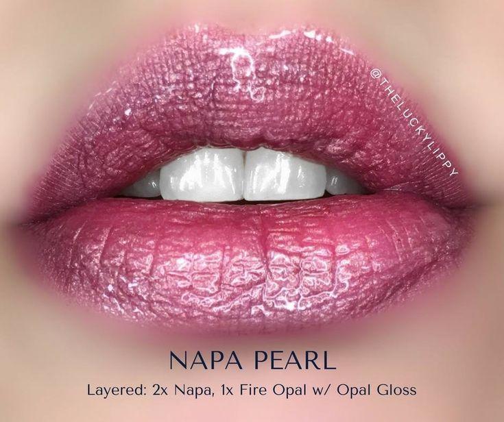Napa, Fire Opal, Opal Gloss Lipstick using SeneGence LipSense | Smudge proof, waterproof, long-lasting | pair with granite shadowsense and black LashSense | Cruelty free makeup | Makeup look | Makeup how to | Makeup tutorial | long-lasting makeup | LipSense | LipSense distributor #290962 | makeupwithkisses.com | Instagram: makeupwithkisses Photo: @theluckylippy