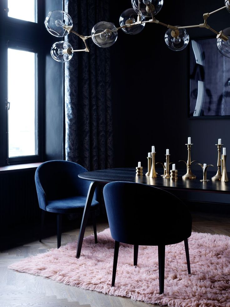 Layered's Lounge Midnight Blue Chair. The fabric of the sofa is resistant polyester velvet. Europe Free Shipping. See more at: http://layeredinterior.com/product/lounge-chair/