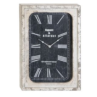 Portobello Vintage Antiqued Classic Wall Clock | Overstock.com Shopping - The Best Deals on Clocks