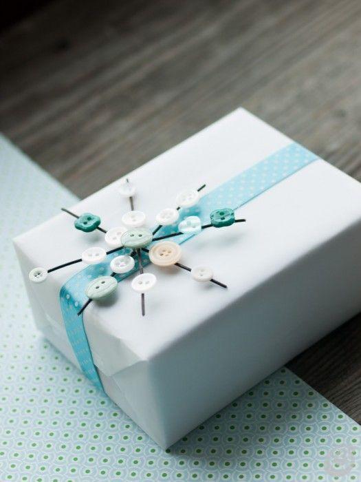 Idee fai da te :: Addobbi natalizi con i bottoni