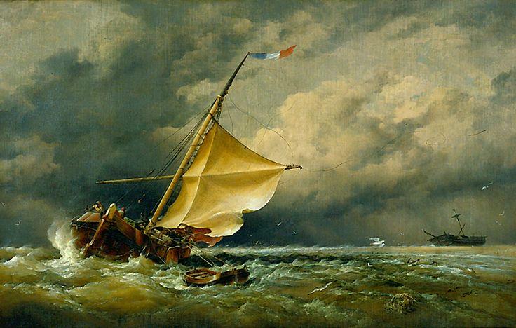 A Dutch Beurtman Aground