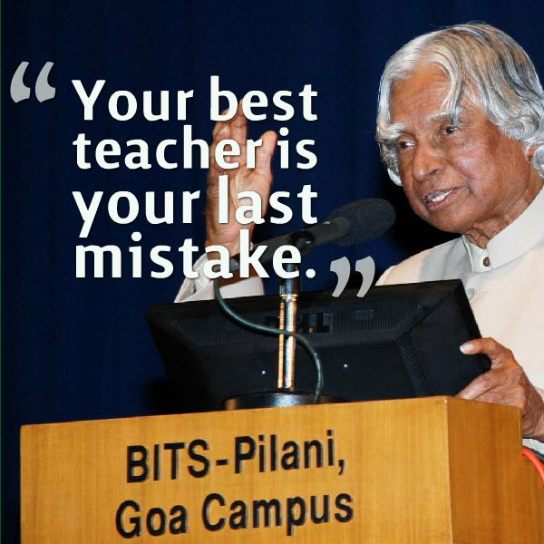 Inspiration by Abdul Kalam