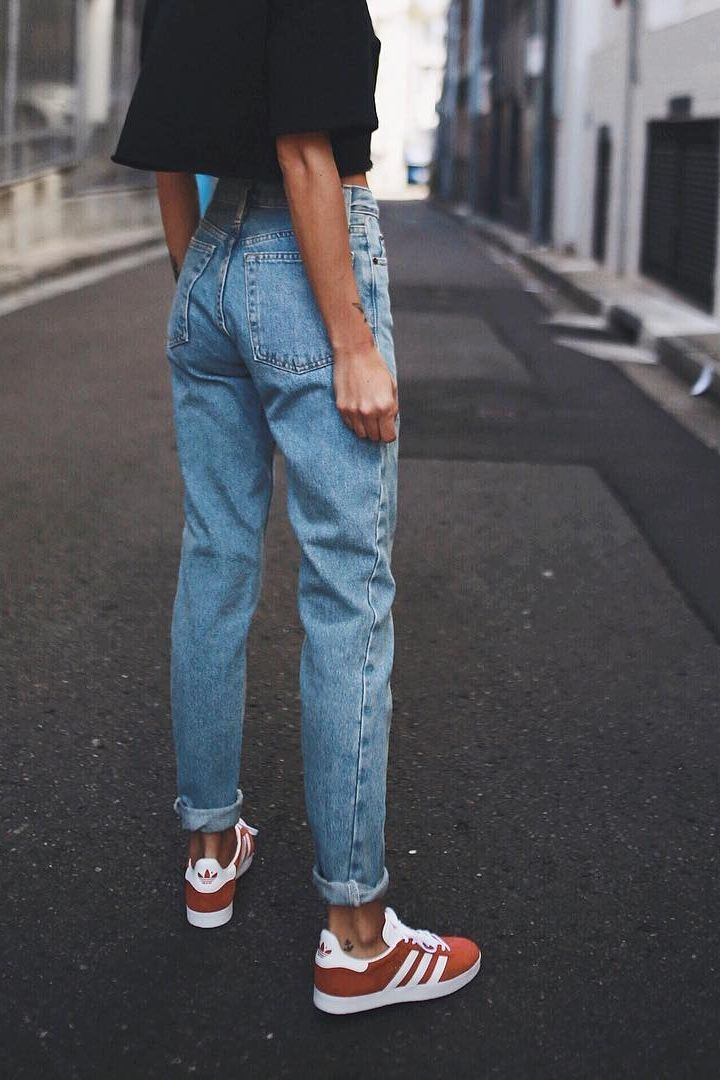 huge selection of 3d2a4 12734 Pin by Erica ॐ Frasco on s t y l e   Pinterest   Fashion, Style and Mom  jeans outfit