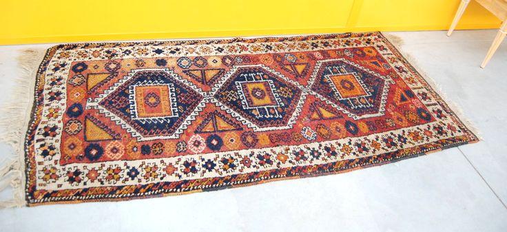 Tappeto orientale antico 230 x 100 cm
