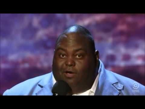 Lavell Crawford (Can a Brother get some Love).  He is absolutely funny. You will laugh until your stomach hurts. Caution profane language